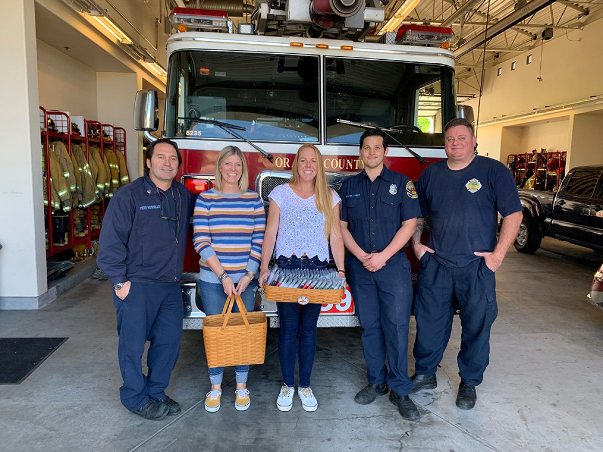 Xebex Mission to Give Underwear Away - San Clemente Firefighters #59