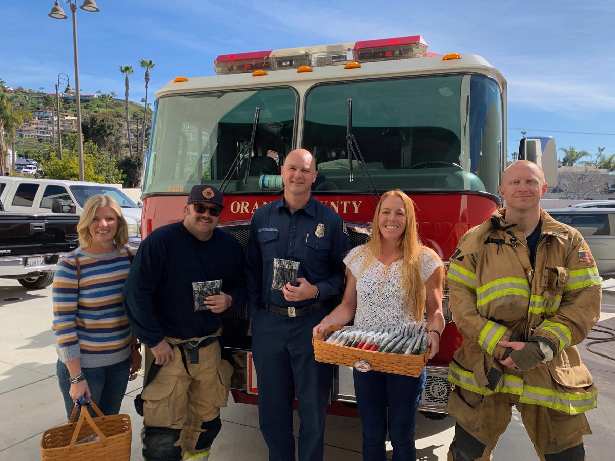 Xebex Mission to Give Underwear Away San Clemente Firefighters - #59